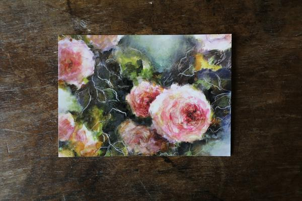 Set of 3 postcard from my original painting by Fabienne Monestier