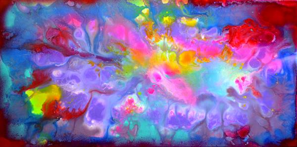 Perfect Harmony XIX - Abstract Painting - Ready to Hang, Office, Home, Hotel, Restaurant Decor by Soos Tiberiu - Anton