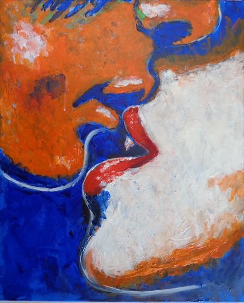 Lovers - Kiss 9 by Carmen Tyrrell