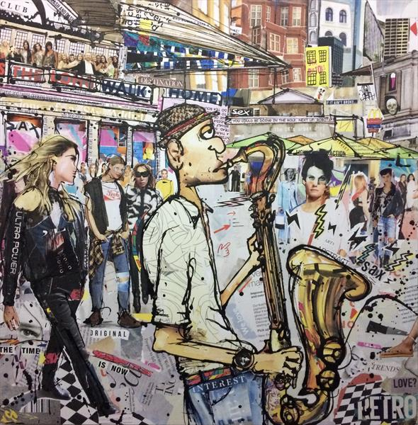 Confessions of a sax addict  by Keith Mcbride