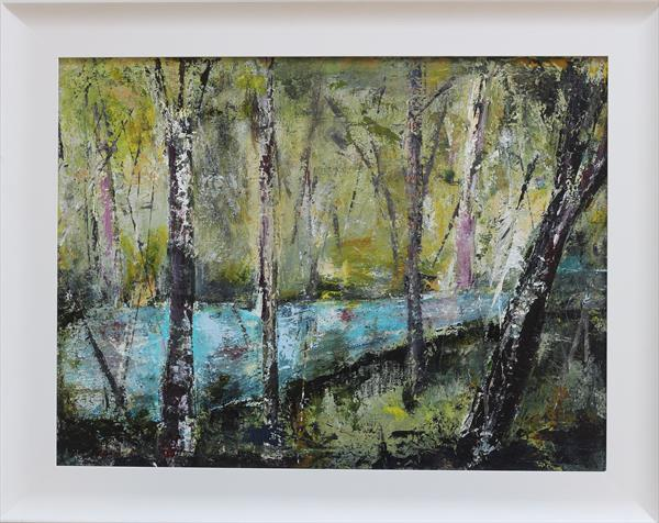 River Through the Woods by Anne Doggett