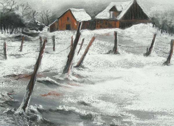 Cold Snap - Charcoal & Chalk  by Super Cosmic