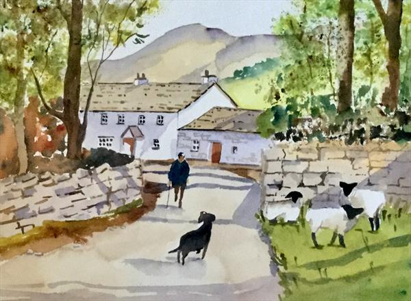 SKELWITH FOLD, CUMBRIA by Susan Shaw