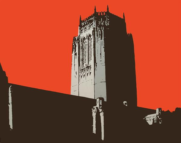 Anglican In Red by Paul Francis