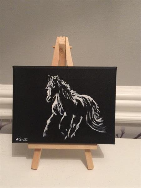 Horse Silhoutte #2 by Andrew Snee