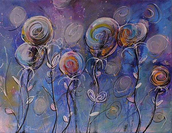 Family of Flowers by Tracey Unwin
