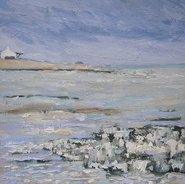 Chalky May Coast, Kingsdown by Nikki Wheeler