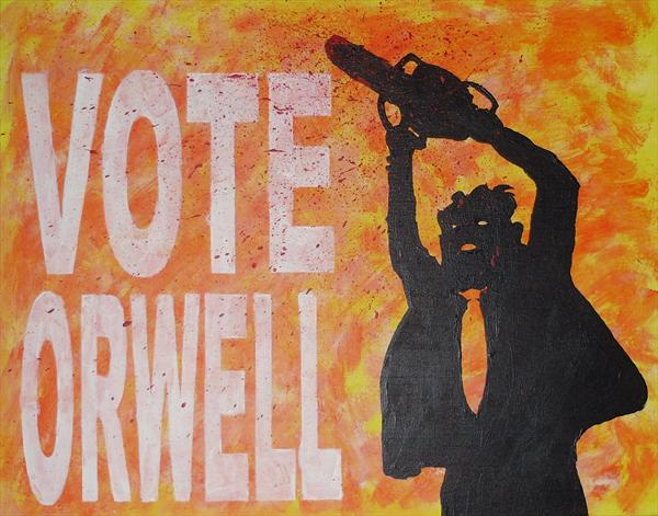 Vote Orwell by Harris Jackson