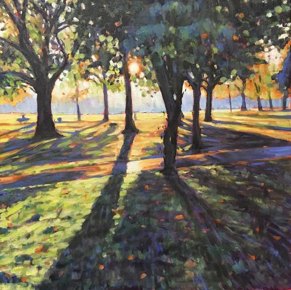 Wandsworth Common Autumn  by Louise Gillard