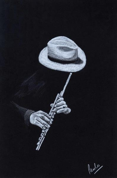 Flute Player by Paul Oughton