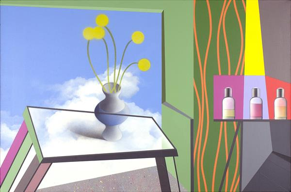 Interior II With Still Life by Graham King