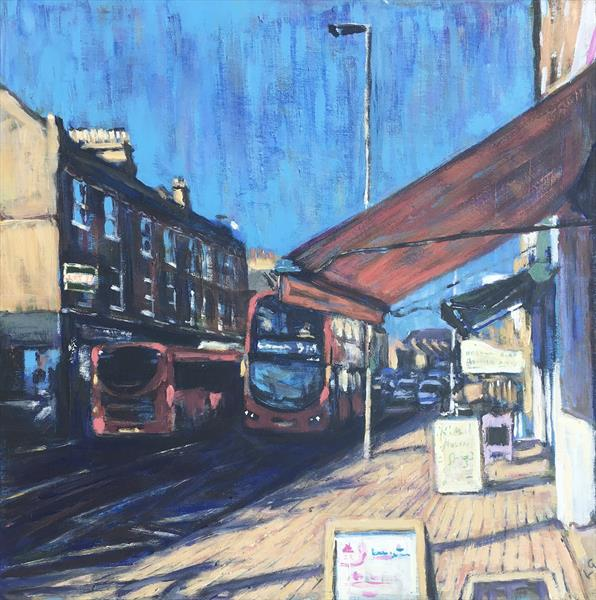 319 to Streatham Hill by Louise Gillard