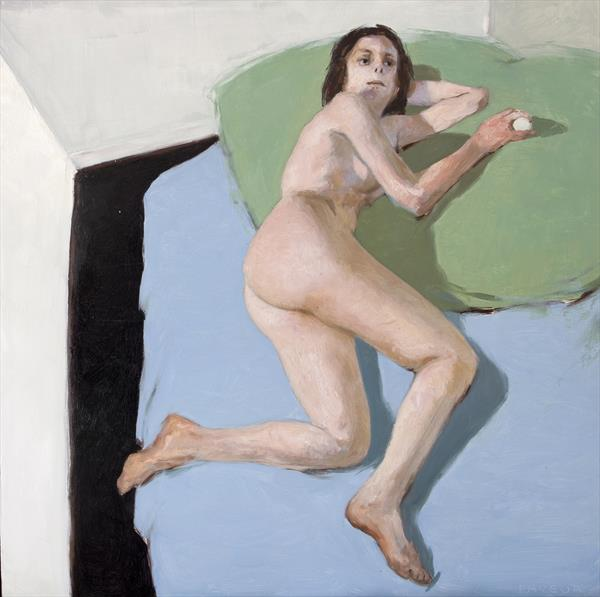 modern nude painting by olivier payeur