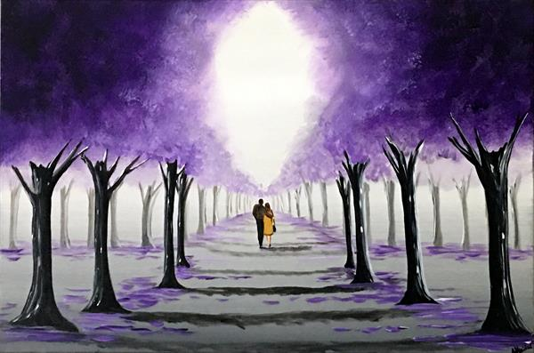 Through The Purple Trees 3 by Aisha Haider
