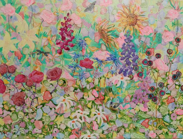 Flower Explosion no.2 by Veronica  Haldane
