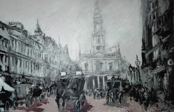 The Strand-Victorian London by david Taylor