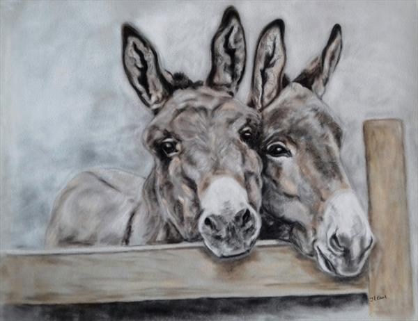 Donkey - Inquisitive by Tracey Earl