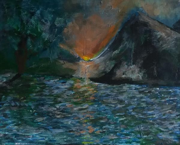 Impression of a Sunrise by Peter Garland