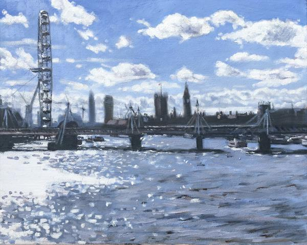 Thames impressions by Louise Gillard