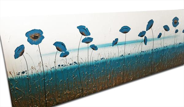 Nirvana Landscape Commission 84x28in