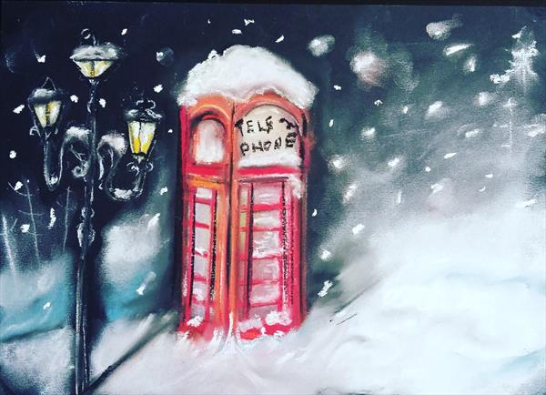 Let it snow by Katia Holmes