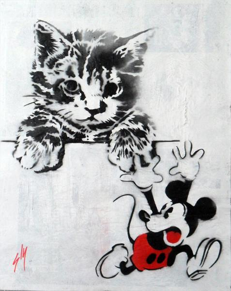 Cat and Mouse (On the Telegraph)