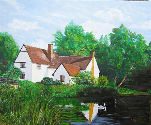 haywain cottage by Andrew Calladine
