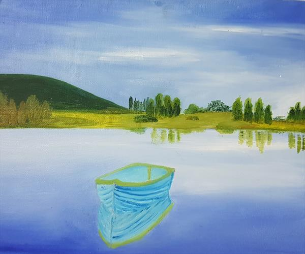 Blue Reflection  by Joanne Vincent