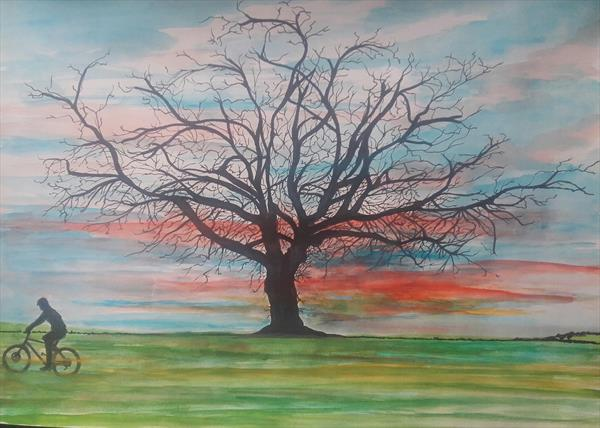 The naked tree by John Dallimore