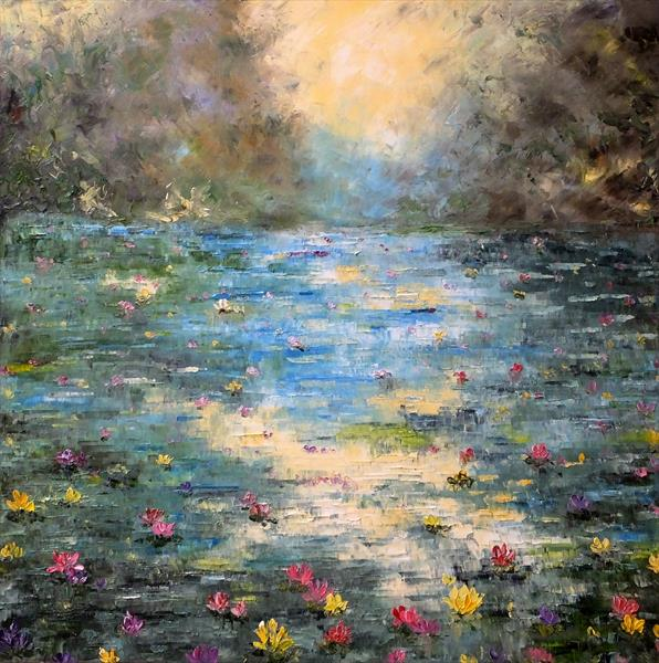 Blend Of Colours by Hester Coetzee