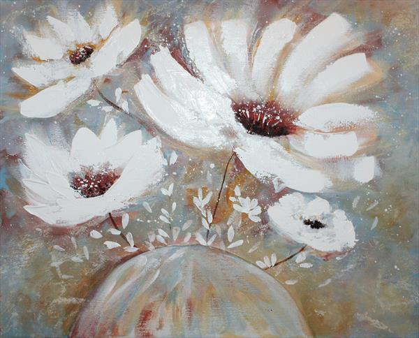 Morning Flowers by susan wooler
