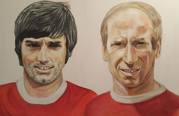 Football Legends by Nicole Factor