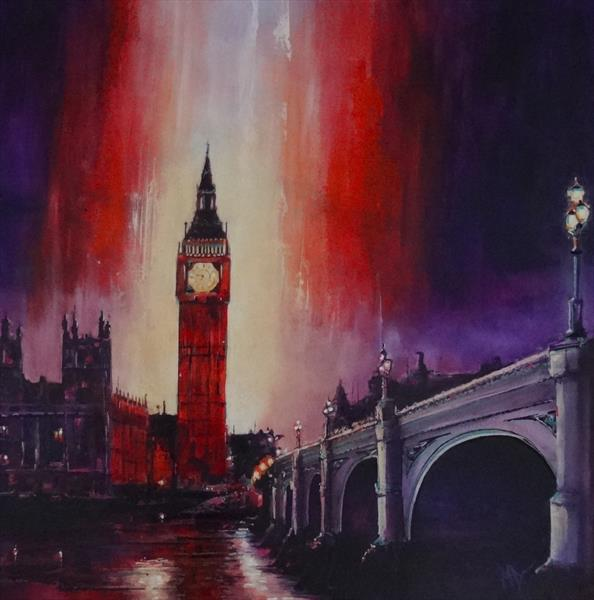 London Nights by Mel Davies