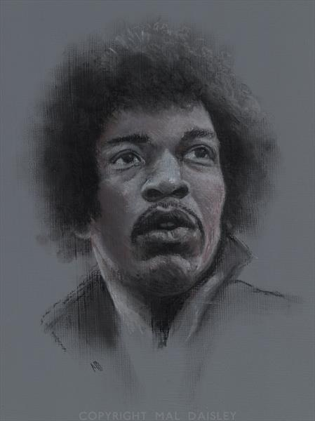A PORTRAIT OF JIMI by Mal Daisley