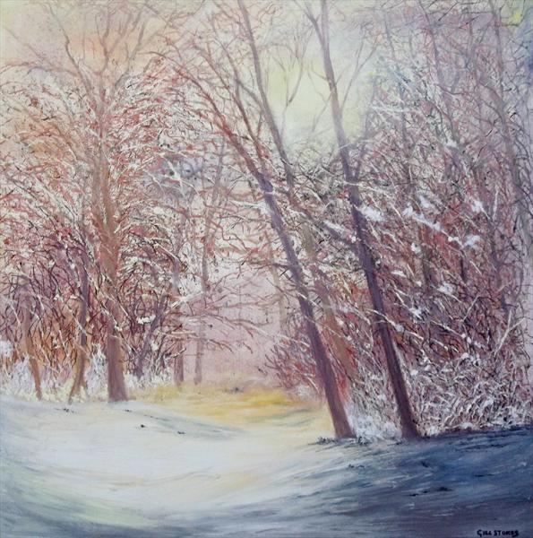 Winter by Gill Stokes
