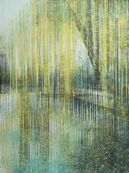 Weeping Willow Tree In Summer Light by Marc Todd
