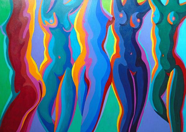 5 NUDES DANCE by Stephen Conroy