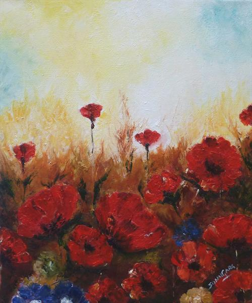Poppies by Sonal Garg