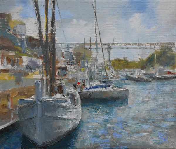 Douarnenez, Brittany, France by Brian Hanson