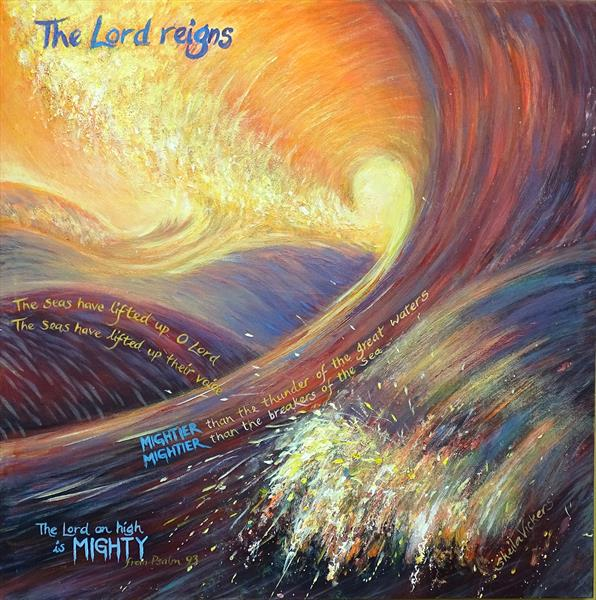 The Lord Reigns No.2 by Sheila Vickers