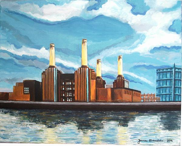 Battersea Power Station, London, 2014 by Joanna Niedzielska