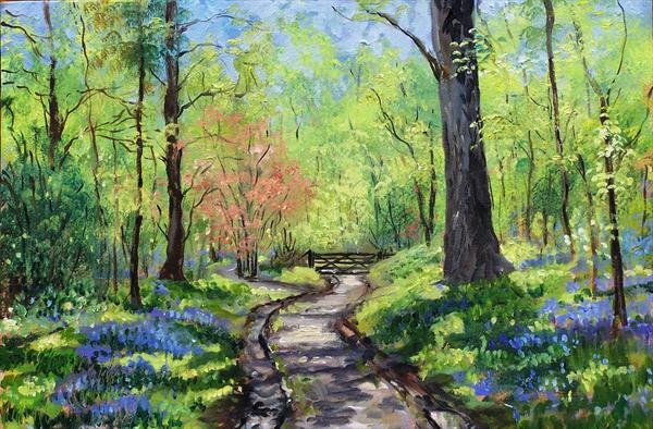 Bluebell Wood by Wendy Sabine