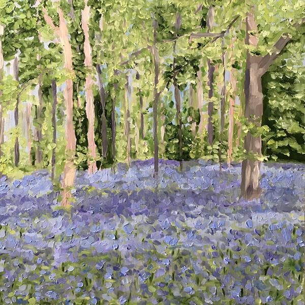 Bluebell Forest by Kate  Solohub