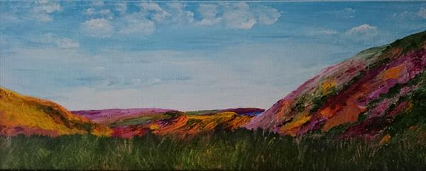 Late summer on the Yorkshire Moors by Paul Smith