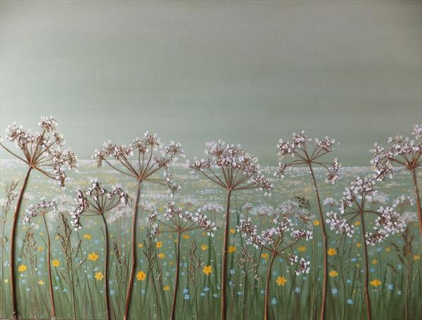 Wild meadow by Sharon O'Brien