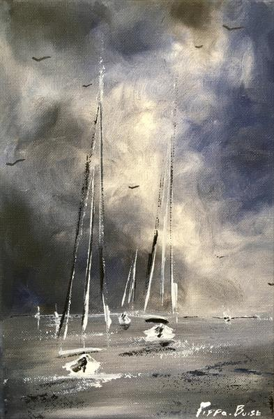 Stormy sails (xs) by Pippa Buist