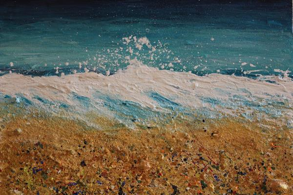 Crashing Wave Series No 1 by Penny Badger