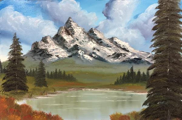 Mountains 4 by Micheal Fox