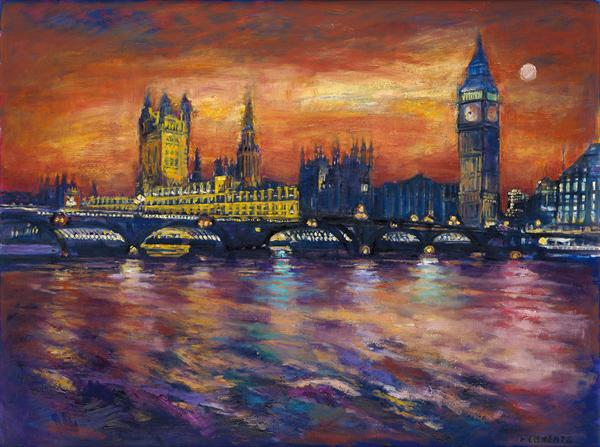 Houses of Parliament, London(Extra Large Print)