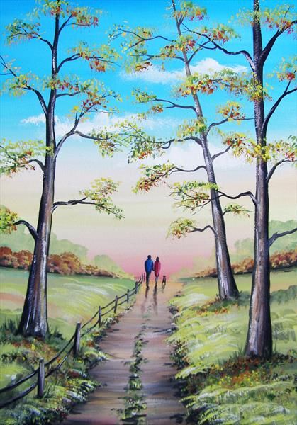 Afternoon Walk by Sarah Featherstone